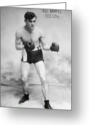 Glove Greeting Cards - AMERICAN BOXER, c1912 Greeting Card by Granger