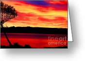 Seattle Greeting Cards Greeting Cards - American Glory Greeting Card by Tap On Photo