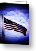 Indivisible Greeting Cards - American Greeting Card by Kevin D Davis