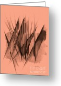 Abstract Greeting Cards - American West Greeting Card by Bob Orsillo