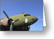 Gunship Greeting Cards - An Ac-130u Spooky Gunship Greeting Card by Stocktrek Images