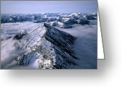 Image Type Photo Greeting Cards - An Aerial View Of Montanas Rocky Greeting Card by Joel Sartore
