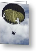 Skydiving Greeting Cards - An Armed Forces Of The Philippines Greeting Card by Stocktrek Images