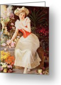 Corsage Greeting Cards - An Array of Beauty Greeting Card by Oreste Costa