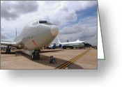 Rivet Greeting Cards - An E-8c Joint Surveillance Target Greeting Card by Stocktrek Images