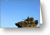 Armored Vehicles Greeting Cards - An Lav-25 Armament Reconnaissance Greeting Card by Stocktrek Images