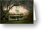 Nestled In Greeting Cards - An Old Home Place Greeting Card by Randall Branham