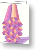 Roswitha Schmuecker Greeting Cards - Ananas No.3 Greeting Card by Roswitha Schmuecker