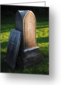 Coffin Greeting Cards - Ancestors Greeting Card by Robert Harmon