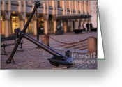 Decorativ Photo Greeting Cards - Anchor Greeting Card by Miso Jovicic