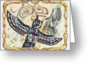 Ancestors Greeting Cards - Ancient Ancestors Greeting Card by James Williamson