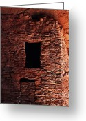 Masterful Greeting Cards - Ancient Smoke House Greeting Card by Terril Heilman