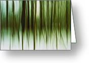 Tree Lines Greeting Cards - And Now for Something Completely Different  Greeting Card by Gert Lavsen