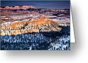 Inspiration Point Greeting Cards - And Now I Lay Me Down to Sleep III Greeting Card by Irene Abdou