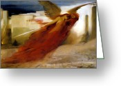 Cry Greeting Cards - And There Was A Great Cry In Egypt Greeting Card by Arthur Hacker