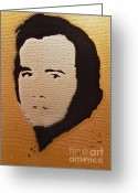 Tom Evans Greeting Cards - Andy Kaufman Greeting Card by Tom Evans