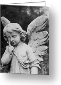 Sculture Greeting Cards - Angel Greeting Card by Amarildo Correa