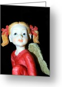 Spirit Rising Greeting Cards - Angel Greeting Card by Ester  Rogers