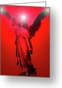 Seraphim Angel Greeting Cards - Angel of Harmony No. 03 Greeting Card by Ramon Labusch