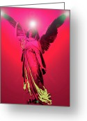 Seraphim Angel Greeting Cards - Angel of Harmony No. 04 Greeting Card by Ramon Labusch