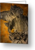 Grave Greeting Cards - Angel of Mercy Greeting Card by Larry Marshall