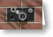 Camera Digital Art Greeting Cards - Another Brick Greeting Card by Mike McGlothlen