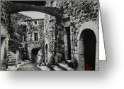 Colette Greeting Cards - Another Residence in Childhood Alba France Ardeche Greeting Card by Colette Hera  Guggenheim