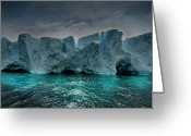 Antarctica Greeting Cards - Antarctica Greeting Card by Michael Leggero