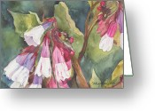 Mother Gift Painting Greeting Cards - Antebellum Greeting Card by Casey Rasmussen White