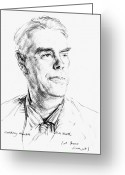Hubert Greeting Cards - Anthony Powell (1905-2000) Greeting Card by Granger
