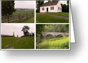 Antietam Greeting Cards - Antietam Maryland - September 17 - 1862 Greeting Card by David Bearden