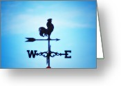 Weather Vane Greeting Cards - Any Way The Wind Blows Home Greeting Card by Bill Cannon