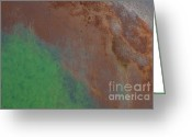Rust Greeting Cards - Ap9 Greeting Card by Francis Riley