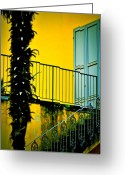 Banister Greeting Cards - Apartment 2 Greeting Card by Emilio Lovisa