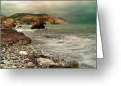 Photograpg Greeting Cards - Aphrodites Storm Greeting Card by Amanda Finan