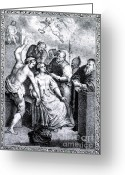 Martyr Photo Greeting Cards - Apollonia, Patron Saint Of Dentistry Greeting Card by Science Source