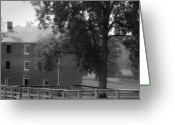 County Jail Greeting Cards - Appomatttox County Jail Virginia Greeting Card by Teresa Mucha