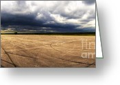Raf Greeting Cards - Approaching Thunderstorm - Beaulieu Greeting Card by Jan Faul