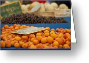 Apricots Photo Greeting Cards - Apricot Season Greeting Card by Georgia Fowler