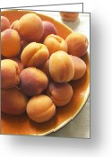 Apricots Photo Greeting Cards - Apricots Greeting Card by Jon Stokes