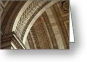 Low Relief Greeting Cards - Arc de Triomphe, Paris Greeting Card by Will & Deni McIntyre