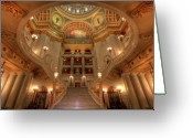 Harrisburg Greeting Cards - Architectural Treasure Greeting Card by Lori Deiter