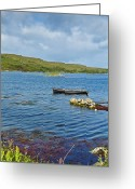 Galway Greeting Cards - Ardmore Bay Greeting Card by Gabriela Insuratelu