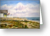 Beaches Greeting Cards - Are We There Yet Greeting Card by Shirley Braithwaite Hunt