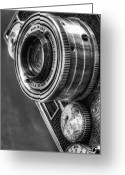 Gears Greeting Cards - Argus C3 Greeting Card by Scott Norris
