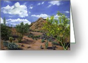 Reinhardt Greeting Cards - Arizona Greeting Card by Lisa Reinhardt