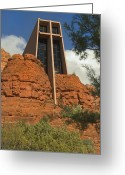 Red Rocks Greeting Cards - Arizona Outback 4 Greeting Card by Mike McGlothlen