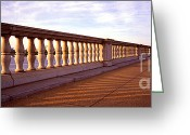Arlington Memorial Bridge Greeting Cards - Arlington Bridge 1 Greeting Card by Mike Nellums
