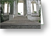 Dj Florek Greeting Cards - Arlington Memorial Amphitheater  Greeting Card by DJ Florek