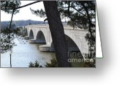 Arlington Memorial Bridge Greeting Cards - Arlington Memorial Bridge Greeting Card by Jost Houk